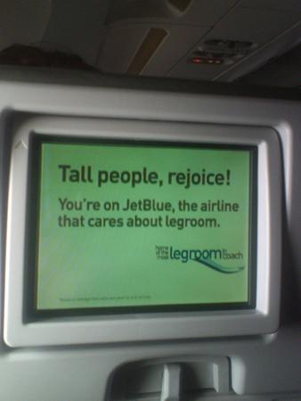tall people rejoice